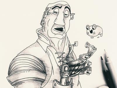 Day 11 #Pirate #100DaysOfSketching