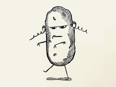 Day 15 #Potatoe #100DaysOfSketching