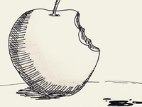 Day 23 #Poisoned #Apple #100DaysOfSketching