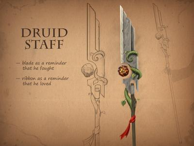 Druid staff