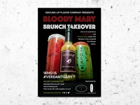 Bloody Mary Brunch Takeover Postcard
