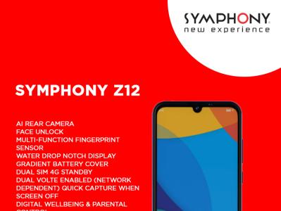 Symphony Z12 Poster Design