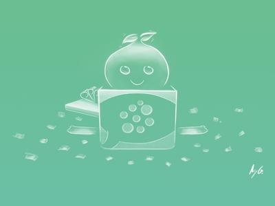 PeaCube Mascot