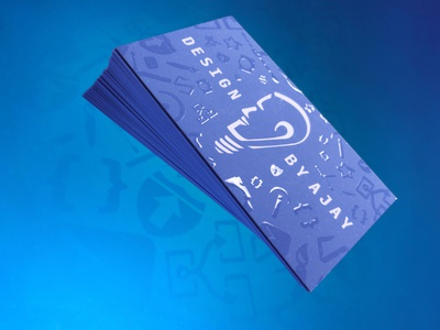 Design By Ajay Business Cards