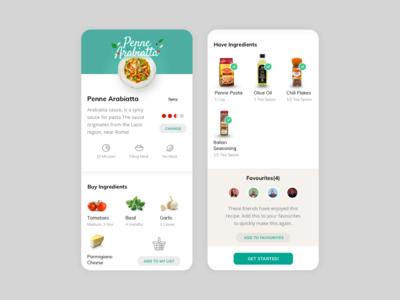Recipe App - Ingredients