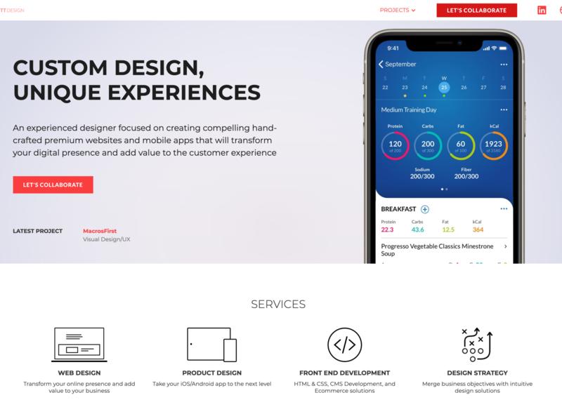 Greg Hackett Design Portfolio webflow website design website design web design product design ui portfolio website portfolio design portfolio