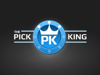 The Pick King Logo Redesign