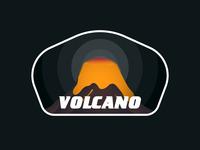 Volcano illustration