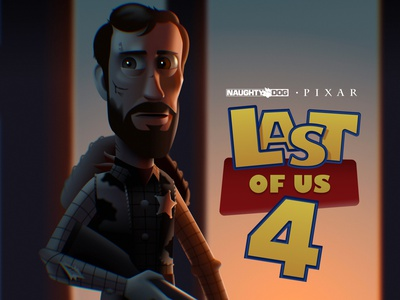 Toy Story meets Last of Us - New Figma Illustration concept character illustration lastofus toystory figma