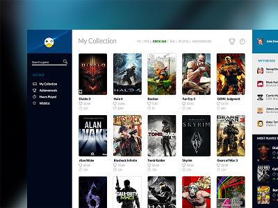 Videogame UI ui videogame interface user interface flat