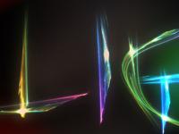 Lights text