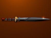Sword [Low poly]