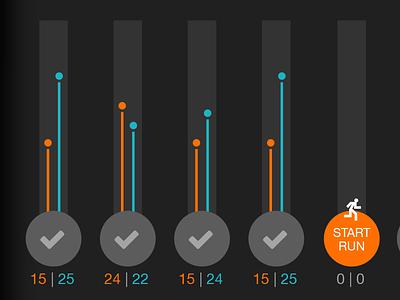 Chart line graph sketch app chart ios