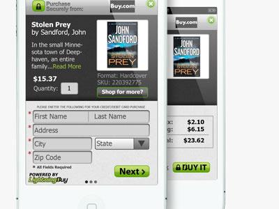 Screens web app screen iphone app e-commerce ecommerce ios light secure form shopping