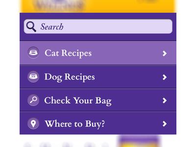Mobile Navigation mobile navigation icons