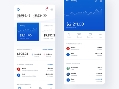 Banking App Exploration adobe xd uiux ux ui app banking