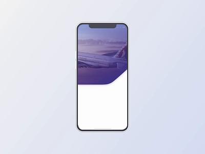 Qatar Airways redesign concept – voice search flight app airline voice search mobile app mobile app design ui app transportation product design animation protopie ios app ux animation