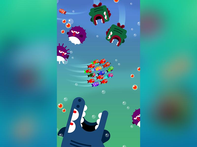 Fish & Trip ios vector fish game