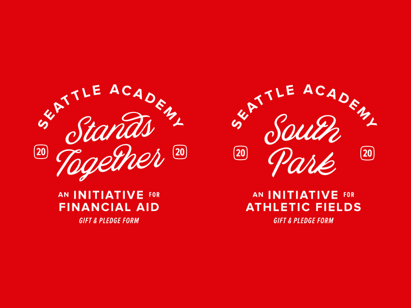 Seattle Academy Badges south park stand together 2020 proxima nova blackbike beasts of england type typography seattle academy