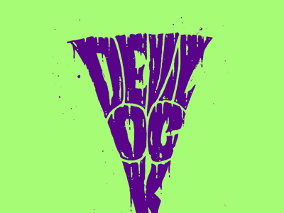 Eyes of death, I have them. we are 138 lettering typography hand lettering fiend club misfits devilock