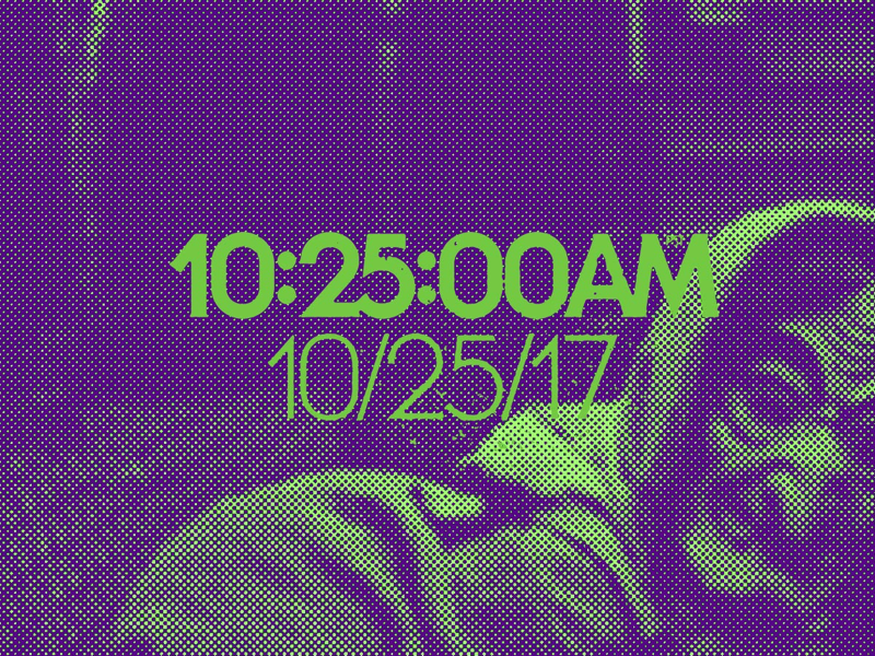 10:25:00AM • 10/25/17 fiend club pins stickers herb lubalin typography we are 1025 misfits