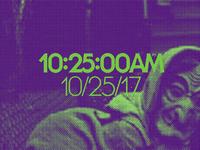 10:25:00AM • 10/25/17