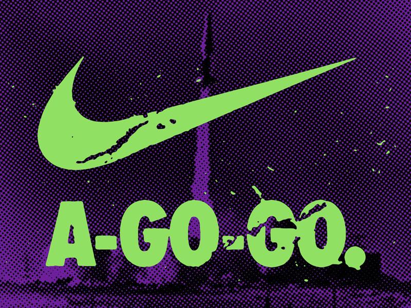 Nike-A-Go-Go missile glenn danzig the misfits futura typography fiend club misfits nike-a-go-go