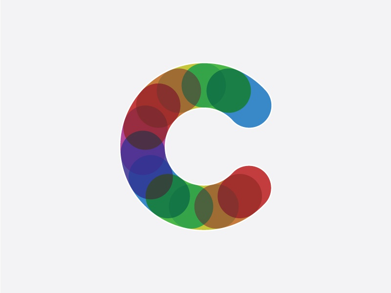 C color multiply typography c 36 days of type