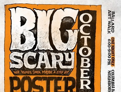 Big Scary Poster