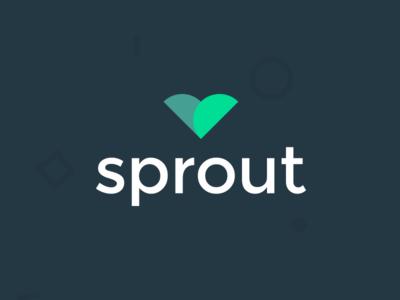 Sprout logo montserrat