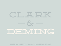 Deming EP – Sample