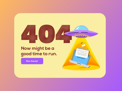 Daily UI #8 - 404 Page web design digital design web 404 illustration ui design interface design design daily ui 100 days of ui minimal