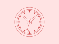 Zurich Trainstation Clock