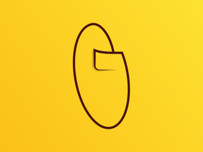G circle minimal graffiti throwup throw throwie yellow g typography type lettering letter