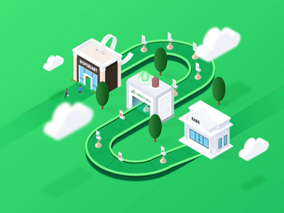 Isometric Drawing for Cannabis Compliance Website