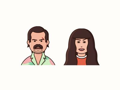 Hopper and Joyce ho