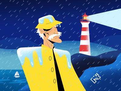 The Lighthouse Rain