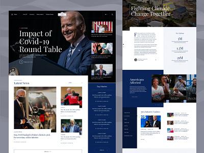 Homepage design government navigation ux ui web design website home homepage landingpage