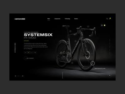 Homepage animation