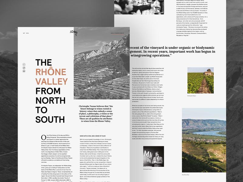 Wine landing page