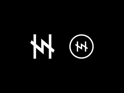 Something for a lil something something... typography bolt home vector logo monogram mark
