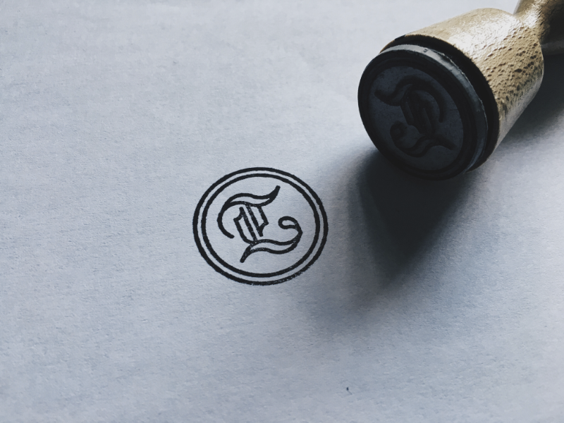 Personal Mark / Logo Stamp