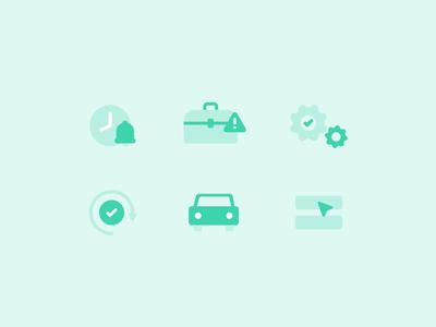 New Hark Website Icons