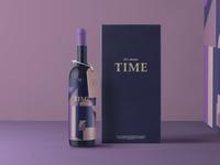Time Wine Bottle