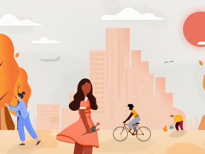 NYC Urban Illustration