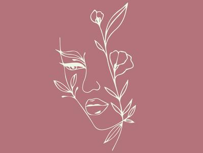 salon logo concept