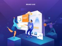 Brand Case-Illustration
