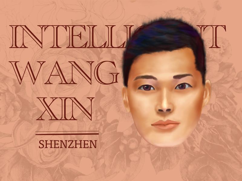 Portrait illustration ipad procreate design painting illustration portrait