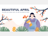 April is late