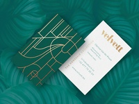 Velvett business cards
